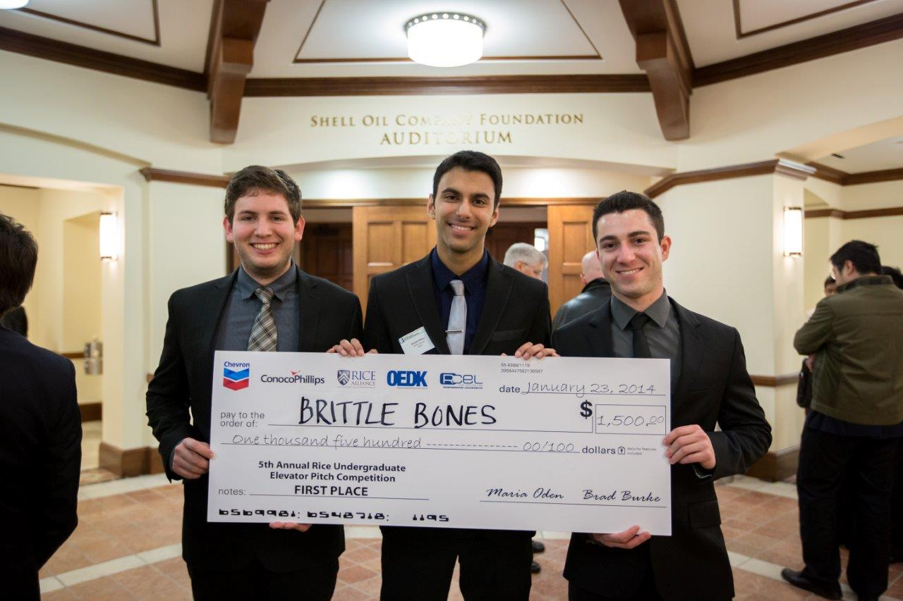 OEDK - Rice University - Elevator Pitch Competition ARCHIVES